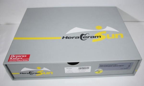 HERAEUS HeraCeram Sun Pastenopaker-Set - OVP # 12130