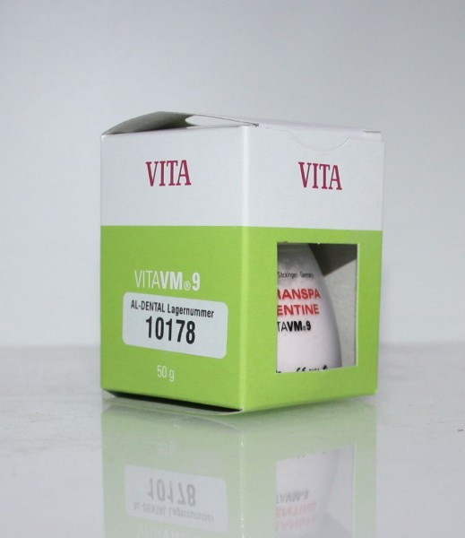 VITA VM 9 Keramikmassen / Dentalkeramik Transpa Dentine D 3 # 10178