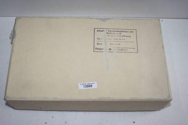 DEGUSSA Vorschubschlitten mit Einspannvorrichtung # 13569