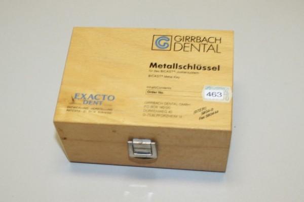 Girrbach Metallschlüssel für das BICAST Justiersystem #463