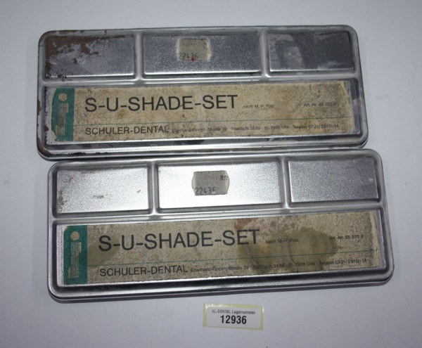 SCHULER-DENTAL S-U-Shade-Set # 12936