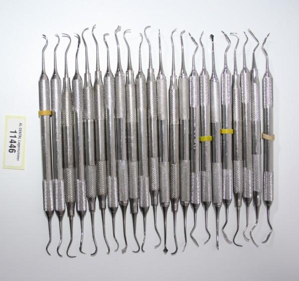 22 x diverse Füllinstrumente / Modellierinstrumente # 11446