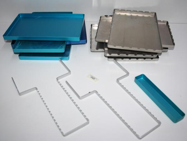 Euronda - Norm Tray Aluminium -12 Teilig etc #12423