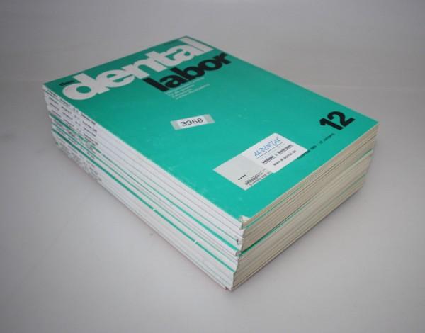 """Zeitschrift """"Das Dentallabor"""" 37. Jahrgang - Jahr 1989 # 3968"""