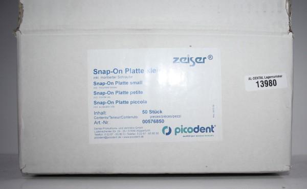 picodent Zeiser Snap-On-Platte - klein # 13980