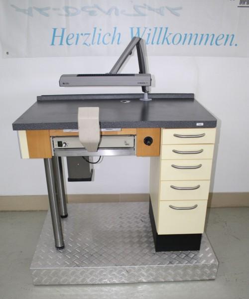 Labor-Einzelarbeitsplatz / Goldschmiede-Arbeitsplatz # 12049