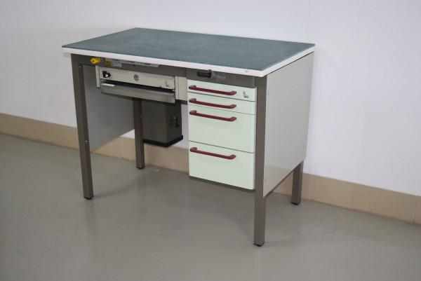 KaVo Einzel-Arbeitsplatz Labor/Praxislabor + neuer Corian-Arbeitsplatte # 6915