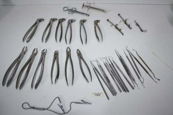 Zahnarztpraxis Restposten diverse Instrumente # 11612