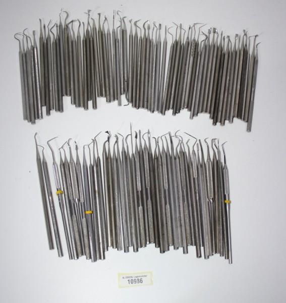 Zahnarztpraxis Restposten diverse Instrumente, Bestecke etc. # 10986