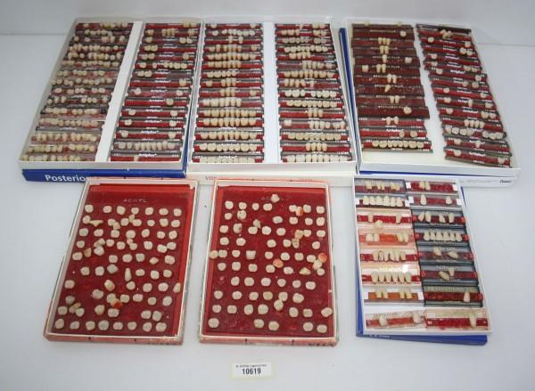 Diverse Reparaturzähne + Garnituren namhafter Hersteller # 10619