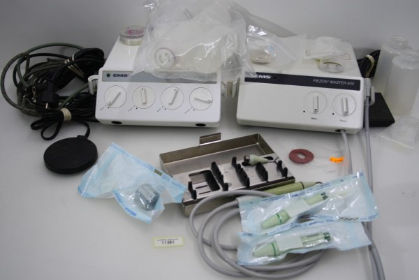 2 x EMS Piezon Master 400 incl. umfangreichem Zubehör # d11361