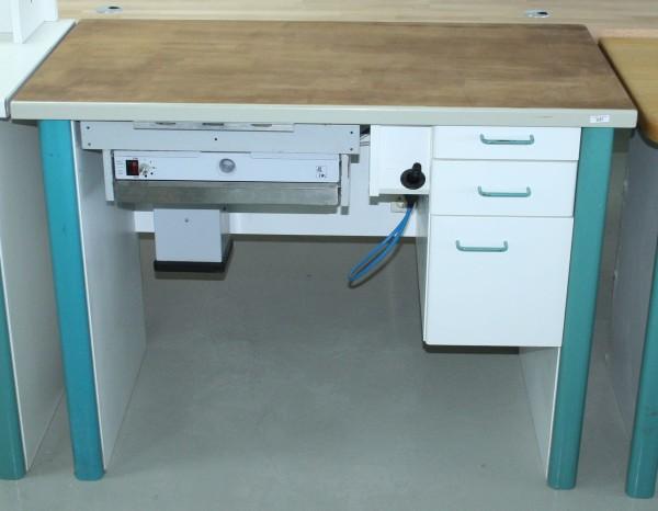 MANN Einzelarbeitsplatz / Labortisch / Techniktisch # 9267