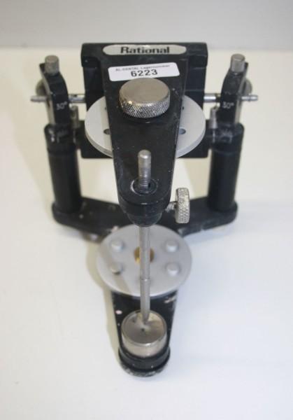 Rational Artikulator mit neuen Montageplatten # 6223
