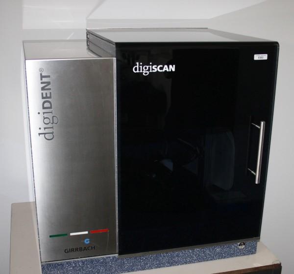 GIRRBACH digiDENT Scanner digiscan # 8363