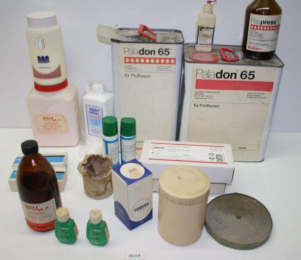Dentallabor-Restposten Verbrauchsmaterialien # 3649