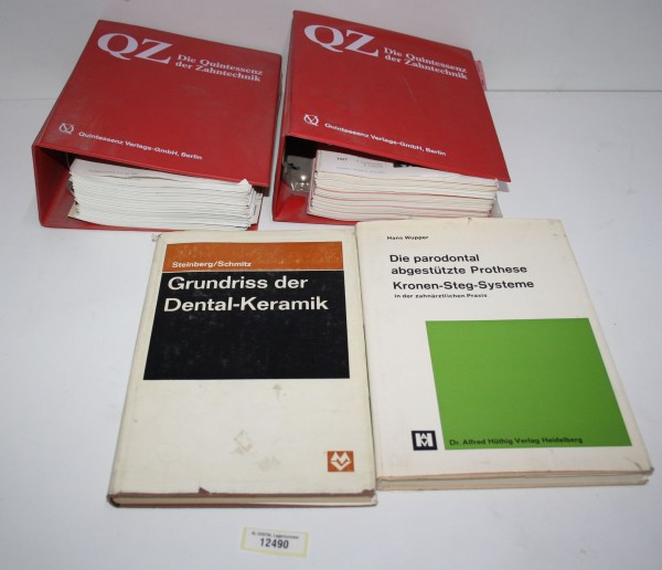 Dental Fachbücher (QZ etc) #12490