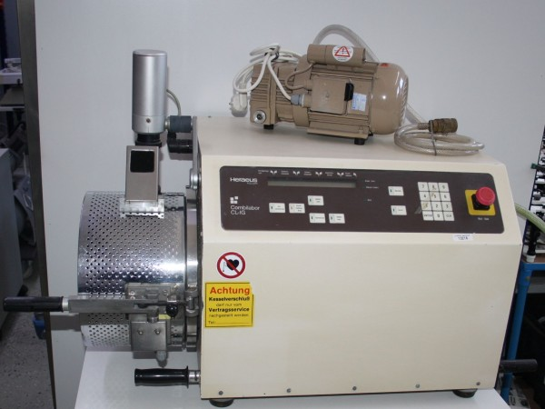 HERAEUS Vacuum-Druckgussgerät Typ CL-IG + Vakuumpumpe # 13218