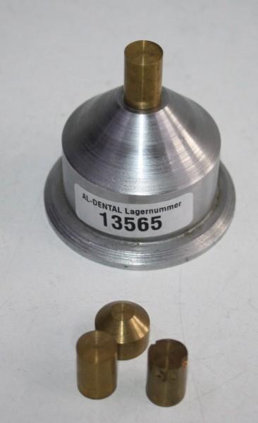 DEGUSSA Fräsgerät-Zubehör - Trainingssockel für Fräsübungen # 13565