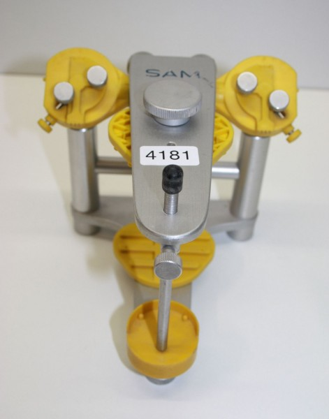 SAM Artikulator + Kunststoffplatten # 4181