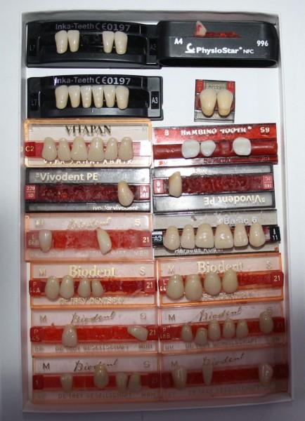 Zahngarnituren / Reparaturzähne namhafter Hersteller # 12753