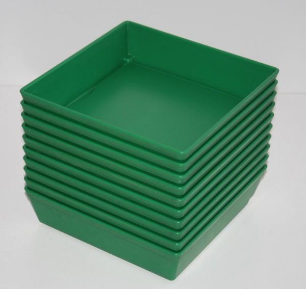 FREUDING Arbeitsschalen - grün - 10 Stück # 11865