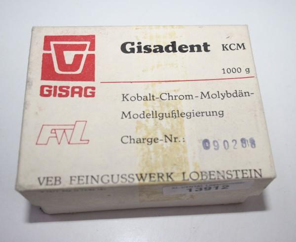 Gisadent KCM Kobalt- Chrom- Molybdän- Modellgußlegierung # 13912