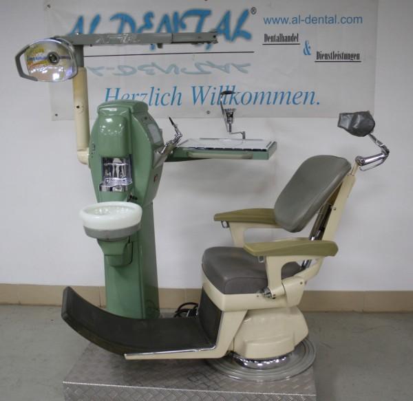 RITTER antike Behandlungseinheit / Zahnarztstuhl # 7393