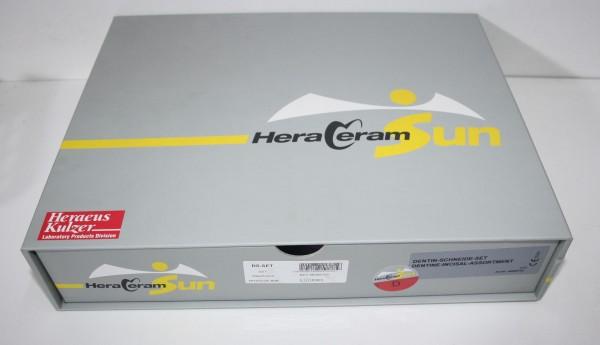 HERAEUS HeraCeram Sun Dentin-Schneide-Set - OVP # 12129