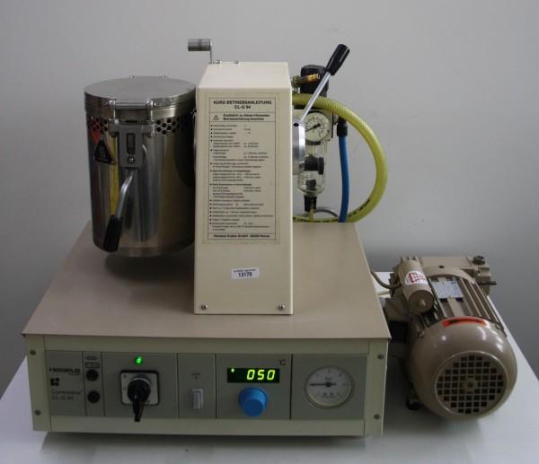HERAEUS Vacuum-Druckgussgerät Combilabor CL-G 94 + Vakuumpumpe # 13170