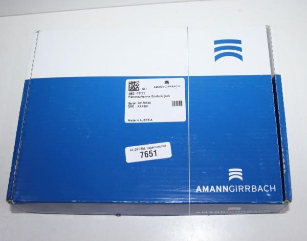Amann Girrbach Plattenaufnahme Giroform groß # 7651