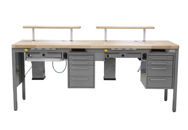KaVo 2er Arbeitstisch / Labortisch / Arbeitsblock / Doppelarbeitsplatz