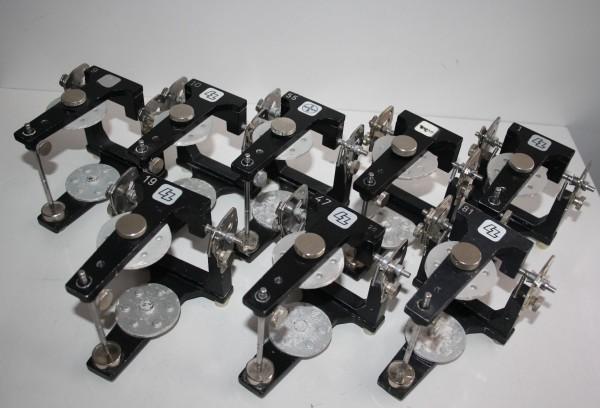6 x LZ / BAYER / HERAEUS CONTAC Artikulatoren