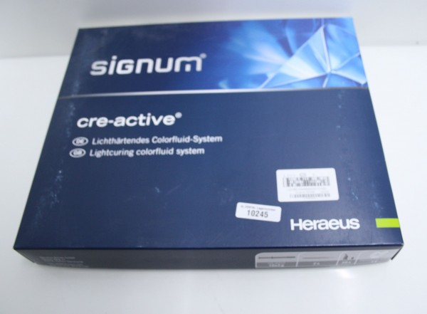 HERAEUS Signum cre-active lichthärtendes Colorfluid-System # 10245