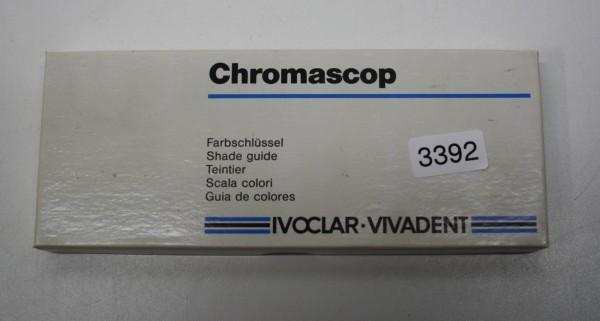 IVOCLAR VIVADENT Chromascop Farbschlüssel # 3392