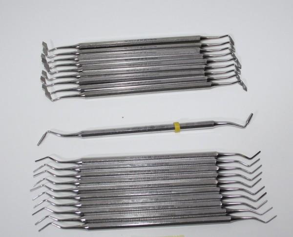 10 x AESKULAP Füllinstrumente / Modellierinstrumente # 11440