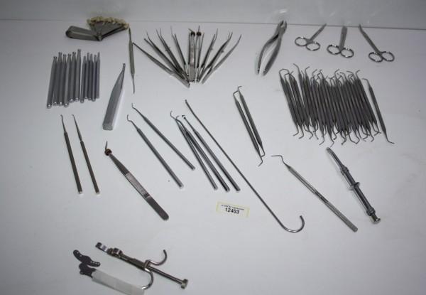 Praxis-Restposten diverse Handinstrumente #12403