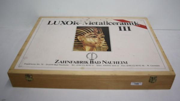 LUXOR III Metallkeramik V-Sortiment # 7459