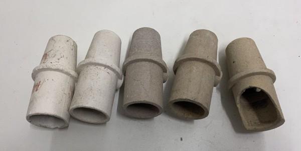5 x Keramiktiegel für Gießgeräte # 12657