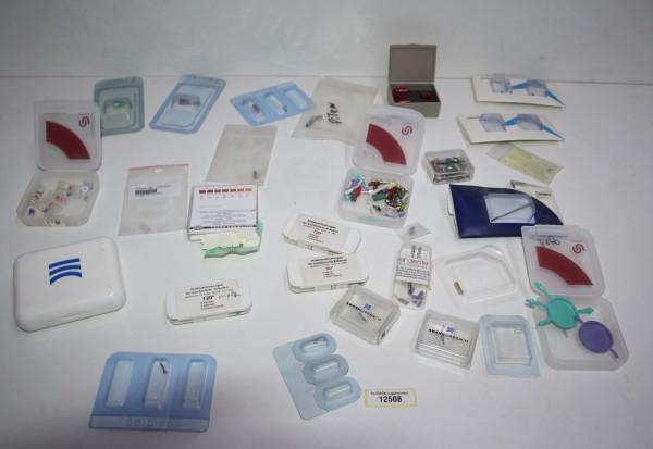 Diverse Kleinteile Implantat Schrauben, Abutments #12508