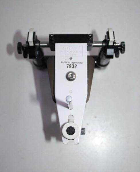 AMANN GIRRBACH Artex Artikulator Typ TK + Splitex-System # 7932
