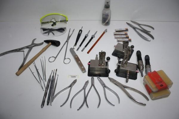 Dentallabor-Restposten diverse Werkzeuge # 12370