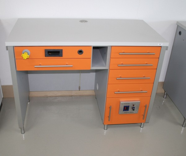 Dental-Labortisch - Einzelarbeitsplatz Techniktisch Labormöbel NEU #6907