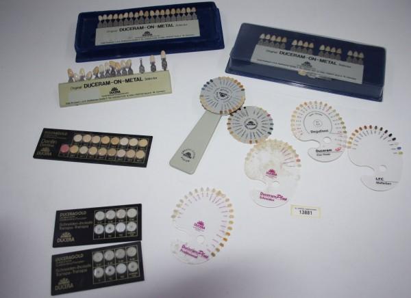 DUCERA diverse Farbscalas / Farbschlüssel # 13881