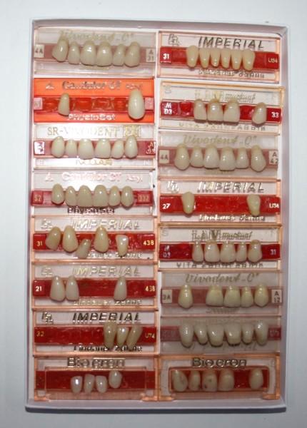 Zahngarnituren / Reparaturzähne namhafter Hersteller # 12745