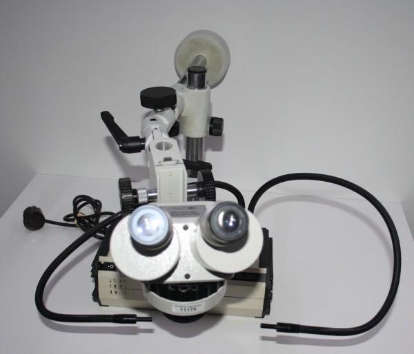 System Eickhorst StereoZoom Mikroskop incl. Kaltlichtquelle # 11175