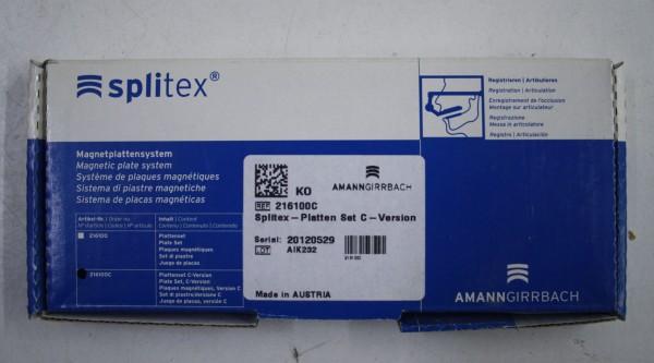 AMANN GIRRBACH Splitex-Platten-Set C-Version # 7995