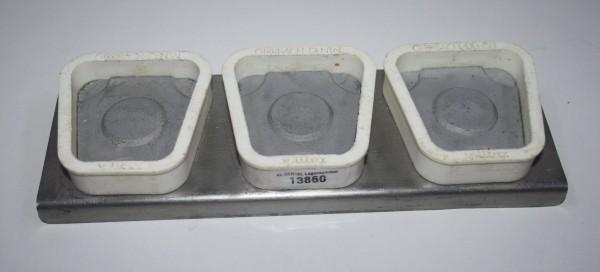 AMANN GIRRBACH Splitex Mutterplatten-Set - 3-teilig # 13860