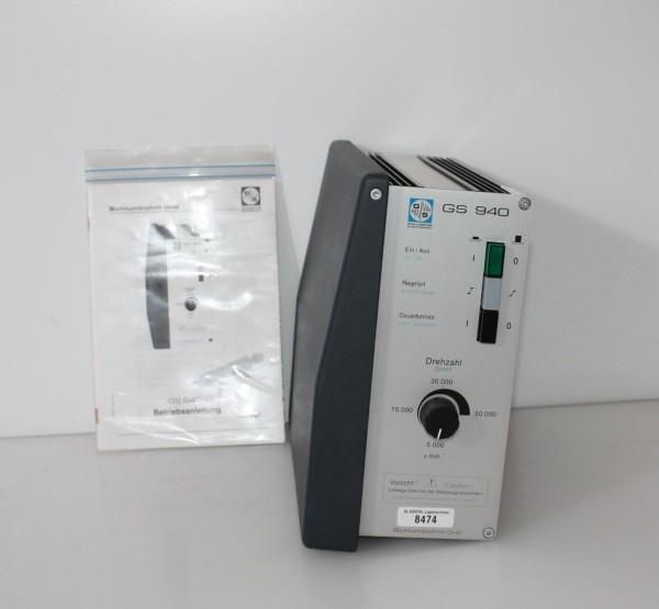 SCHLUMBOHM Knieanlasser / Technikmaschine Typ GS 940 # 8474