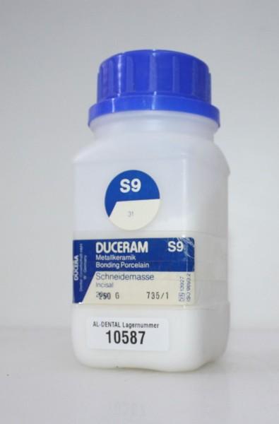DUCERAM Metallkeramik / Schneidemasse S9 # 10587
