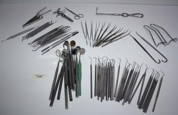 Diverse Zahnarzt Bestecke/Instrumente #12448 *Namenhafte Hersteller*